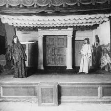 Schüleraufführung am Benediktinergymnasium Meran (Fotografie 1905) Benediktinerstift Marienberg (Italien), Archiv, Foto: Janina Janke