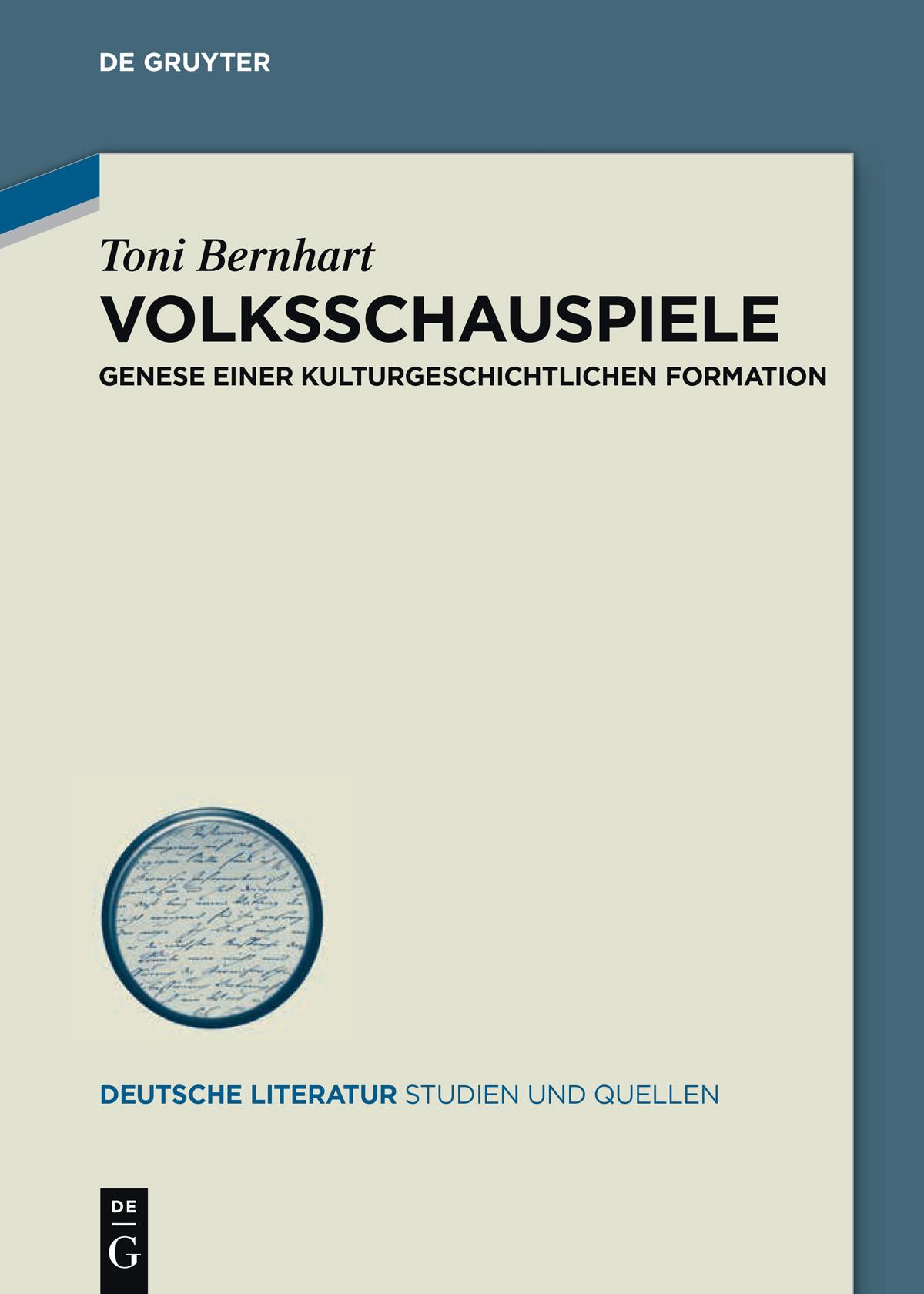 Bernhart_Volksschauspiele_Cover